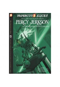 Papercutz Slices #3: Percy Jerkson and the Ovolact...